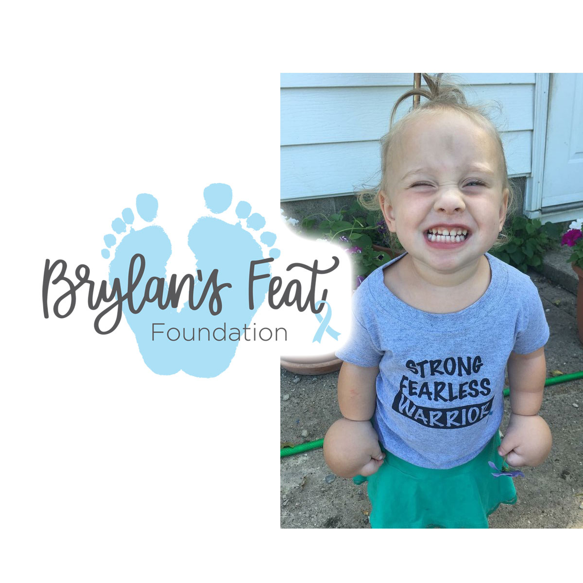 Brylan's Feat Foundation goes VIRTUAL: 