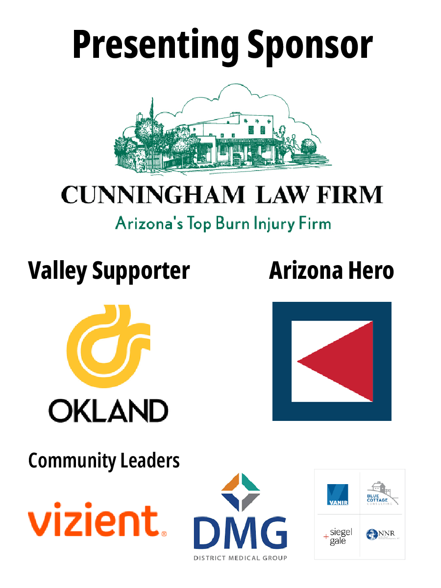 our 2020 Night of Heroes sponsors