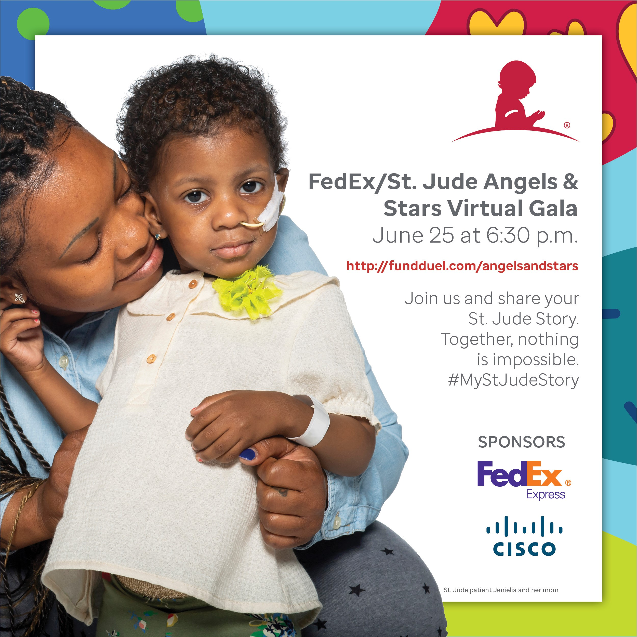 FedEx/St. Jude Angels and Stars Virtual Gala