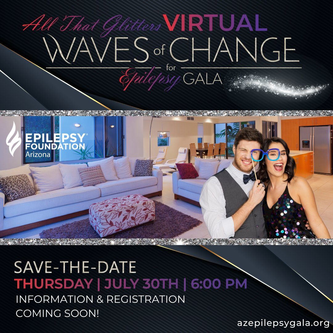16th Annual All That Glitters Virtual Waves of Change for Epilepsy Gala