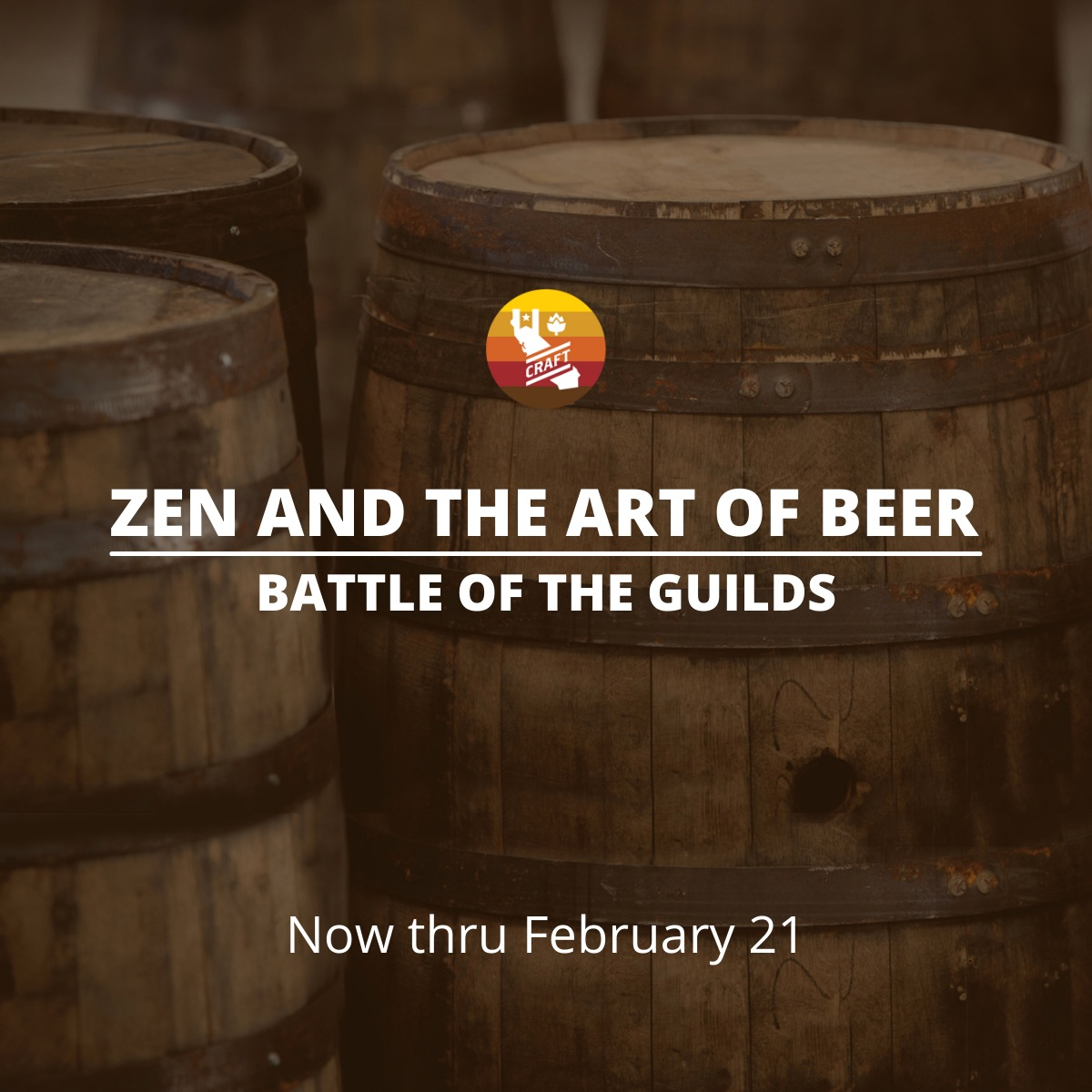 ZEN AND THE ART OF BEER Battle of the Guilds